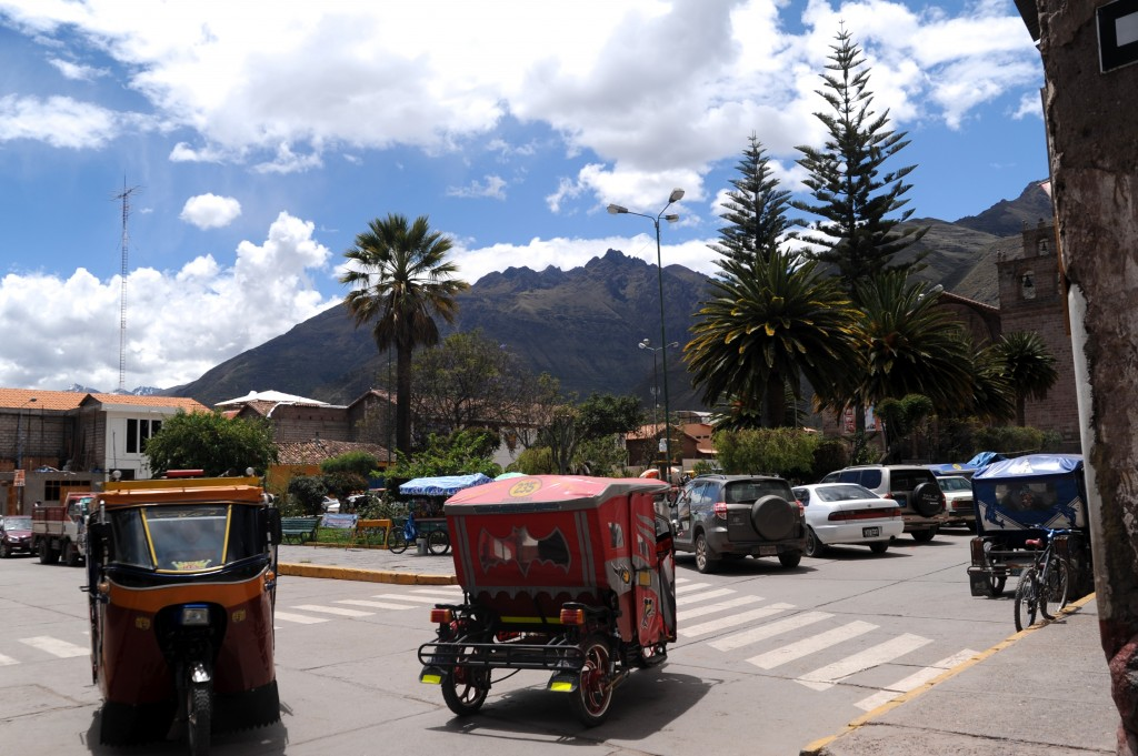 Plaza de Armas and Moto Taxis