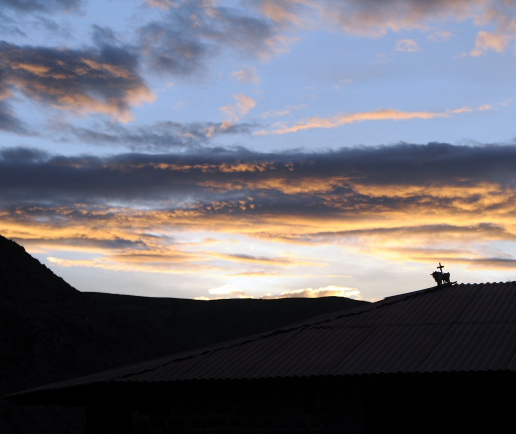 Sunset in Urubamba